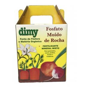 Fertilizante Fosfato Rocha Natural Dimy 1Kg