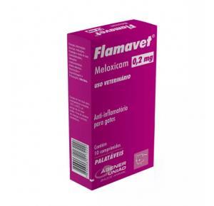 Flamavet Agener União para Gatos 0,2mg com 10 comprimidos