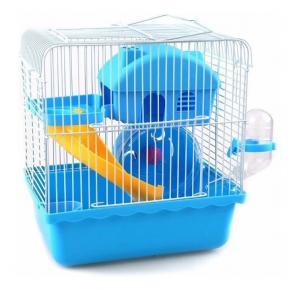 Gaiola Hamster Happy Home Completa Azul