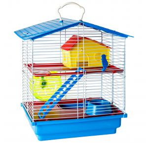 Gaiola Hamster 2 Andares Jel Plast