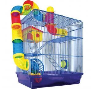 Gaiola Labirinto 3 Andares Para Hamster E Roedores Jel Plast