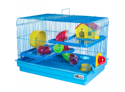 Gaiola para Hamster Big Space Jel Plast