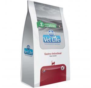 Ração Vet Life Natural Gastro Intestinal para Gatos Adultos 2kg
