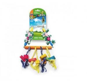 Brinquedo Chocalho Sizal Mais Bird