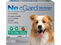 NexGard antipulgas cães de 10,1 a 25 Kg - 1Tablet