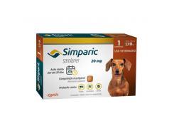 Antipulgas Simparic  Cães de 5,1 a 10 Kg (1 Comprimido)