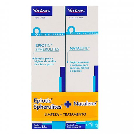 Kit Epiotic E Natalene 25ml - Virbac