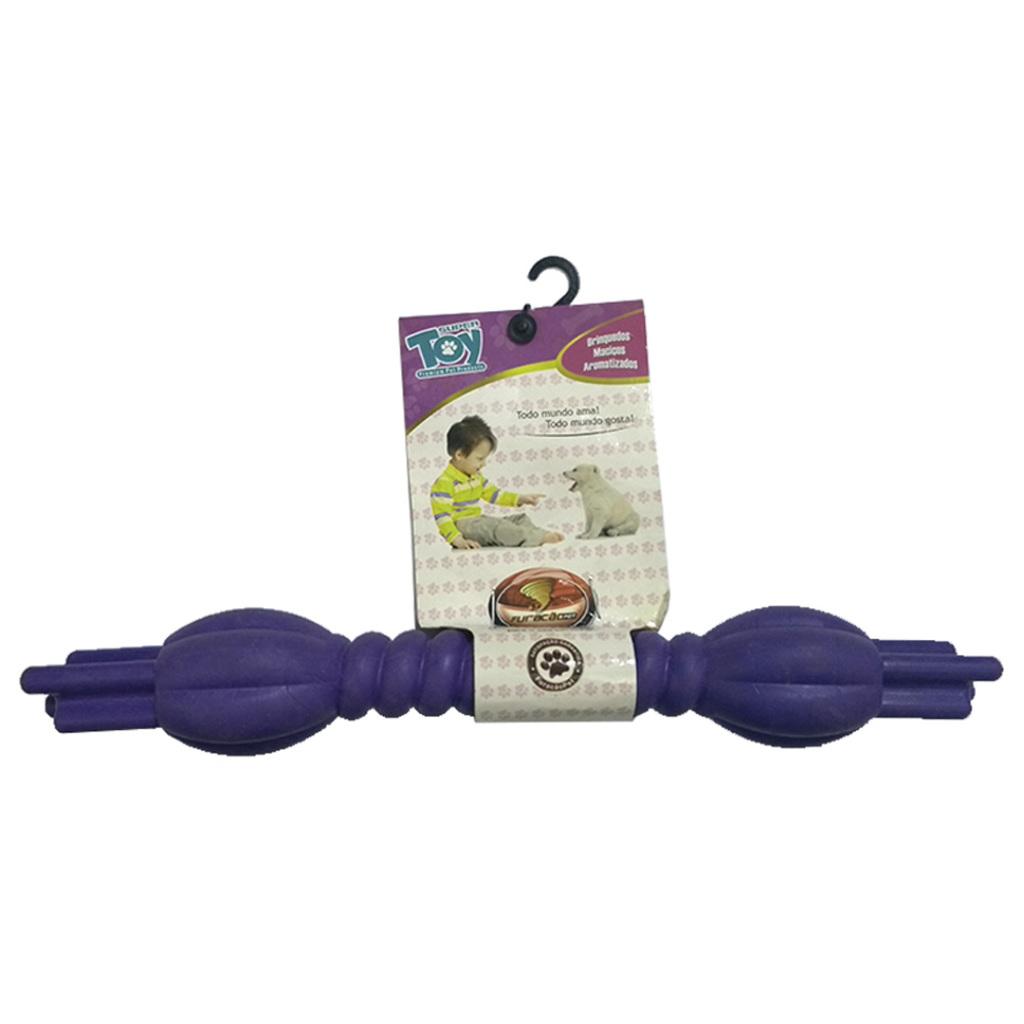 Brinquedo para Cachorros modelo Bastão Torcido de Borracha-G