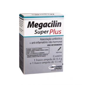 Megacilin Super Plus injetável  Agener  União