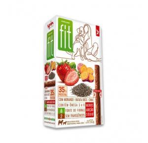 Petisco Spin Pet Onebyone Gourmet Fit Stick Morango Batata Doce e Chia - 50g