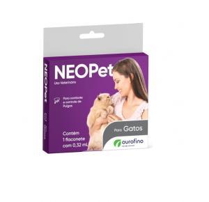 Antipulgas Neopet Ourofino Gatos de 1 a 8Kg