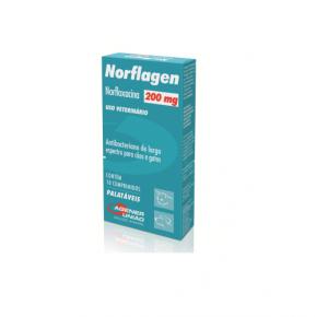 Norflagen Agener União 200mg 10 Comprimidos