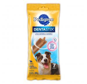 Petisco Pedigree Dentastix Cuidado Oral para Cães Adultos Raças Médias 180g