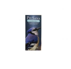 PiuSana Cálcio 20 ml suplemento para pássaros