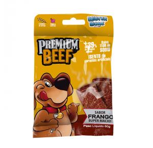 Premium Beef Sabor Frango 60g Mister Bone