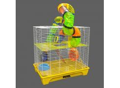 Gaiola Hamster Sol B-3 Cores Quatigua