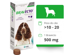 Bravecto  Antipulgas E Carrapatos  para Cães de 4.5 a 10kg