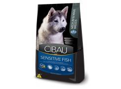 Ração Cibau Sensitive Fish para Cães Adultos Raças Médias e Grandes 12kg