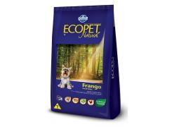 Ração Ecopet Cães Adultos Raças Pequenas Frango 1kg