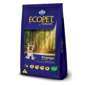 Ração Ecopet Cães Adultos Raças Pequenas Frango 15kg