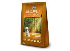Ração Ecopet Original Cães Adultos Raças Medias e Grandes Frango e Carne 15kg