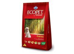 Ração Ecopet para Cães Adultos Raças Medias e Grandes Carne 15kg