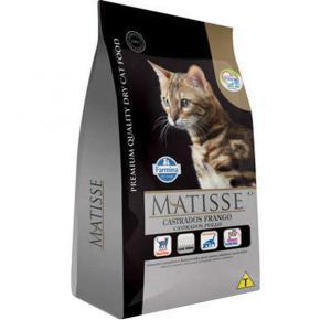 Ração Farmina Matisse para Gatos Adultos Castrados Sabor Frango 7.5kg