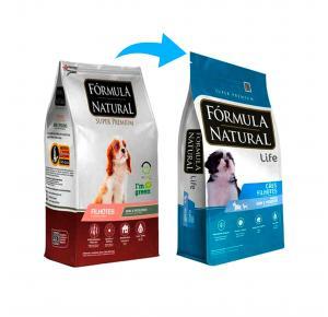 Ração Fórmula Natural para Cães Filhotes Raças Minis e Pequenas 1kg