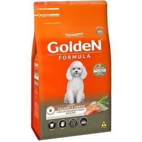 Ração Golden Fórmula para Cães Adultos Raças Pequenas Salmão e Arroz 3kg