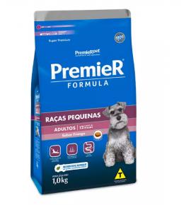Ração Premier Fórmula para Cães Adultos de Raças Pequenas Sabor Frango 1kg