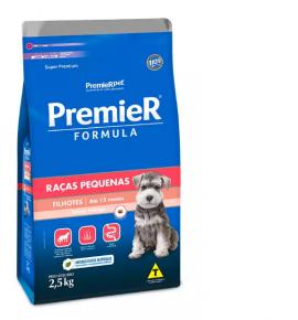 Ração Premier Fórmula para Cães Filhotes de Raças Pequenas Sabor Frango 2.5kg