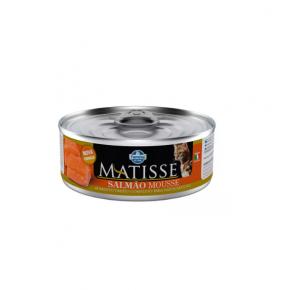 Ração Úmida Lata Matisse para Gatos Mousse Salmão 85g