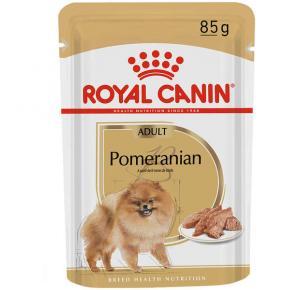 Ração Úmida Royal Canin Sachê para Cães Pomeranian Adultos 85g
