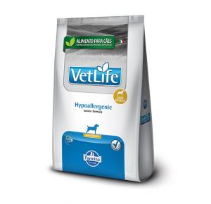 Ração Vet Life Hypoallergenic Mini para Cães Adultos de Pequeno Porte 10.1kg