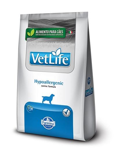 Ração Vet Life Natural Canine Hypoallergenic para cães 2kg