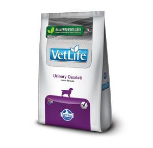 Ração Vet Life Natural Canine Urinary Ossalati para cães 2kg
