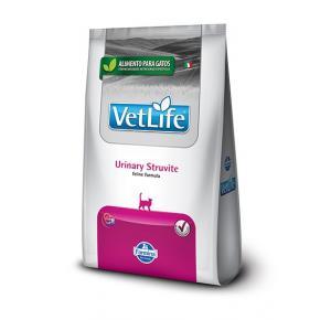 Ração Vet Life Natural Feline Urinary Struvite para Gatos 2kg