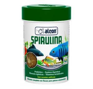 Alcon Spirulina FLAKES  Alimento para peixes - 20g