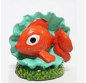 Enfeite Para Aquário Peixe Ostra Lester