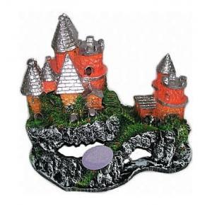 Enfeite Para Aquário Castelo Na Montanha II (125) Lester