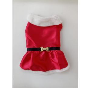 Vestido  de natal para cães - PP