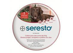 Coleira Seresto  G Antipulgas e Carrapatos para Cães acima de 8 Kg G