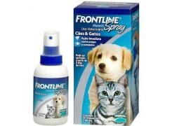 Frontline Spray antipulgas cães e gatos (100 ml )