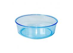 Tigela Redonda Azul Grande 200mL Jel Plast
