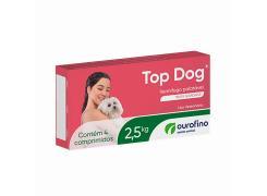 Vermífugo Top Dog  Cães de até 2,5kg (4 comprimidos)