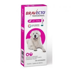Bravecto Transdermal Antipulgas Cães de 40 a 56 Kg