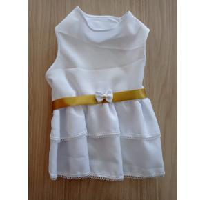 Vestido  branco réveillon chickão - M 32x47cm
