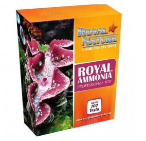 Royal Nature Teste Amonia Marinho-100 Royal Ammonia Professional Test